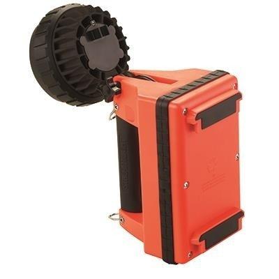 Akumulatorowy szperacz strażacki E-Flood FireBox Set, 615 lm