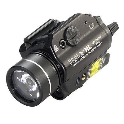 Latarka taktyczna Streamlight TLR-2 HL, czerwony laser