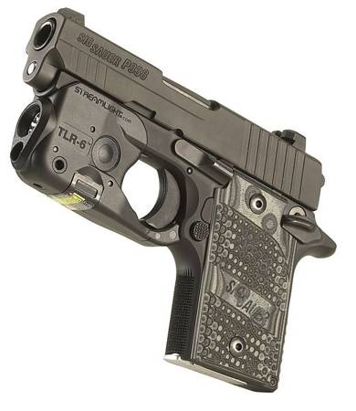 Profesjonalna latarka taktyczna na broń Streamlight TLR-6, SIG SAUER® P238/P938