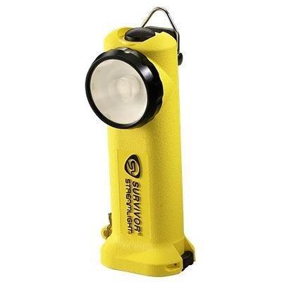 Strażacka latarka kątowa Survivor, kolor żółty, 175 lm